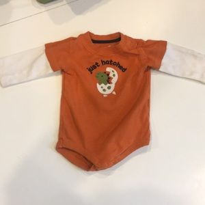 Gymboree long sleeve onesie